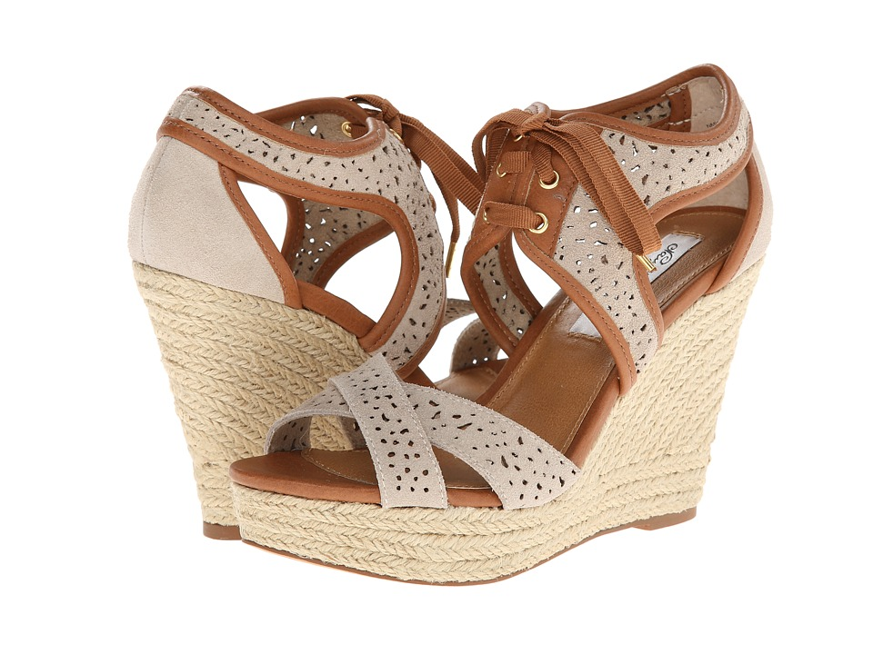 Naughty Monkey - Starshine (Beige) Women's Wedge Shoes