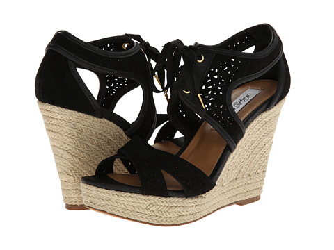 Naughty Monkey - Starshine (Black) Women's Wedge Shoes