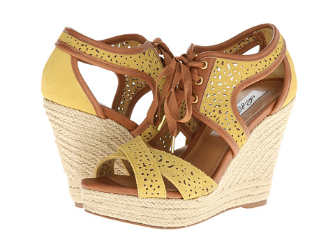 Naughty Monkey - Starshine (Yellow) Women's Wedge Shoes