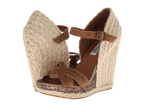 Naughty Monkey - Breeze (Tan) Women's Wedge Shoes