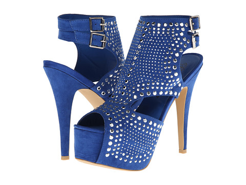 Penny Loves Kenny - Jules (Blue Suede) High Heels