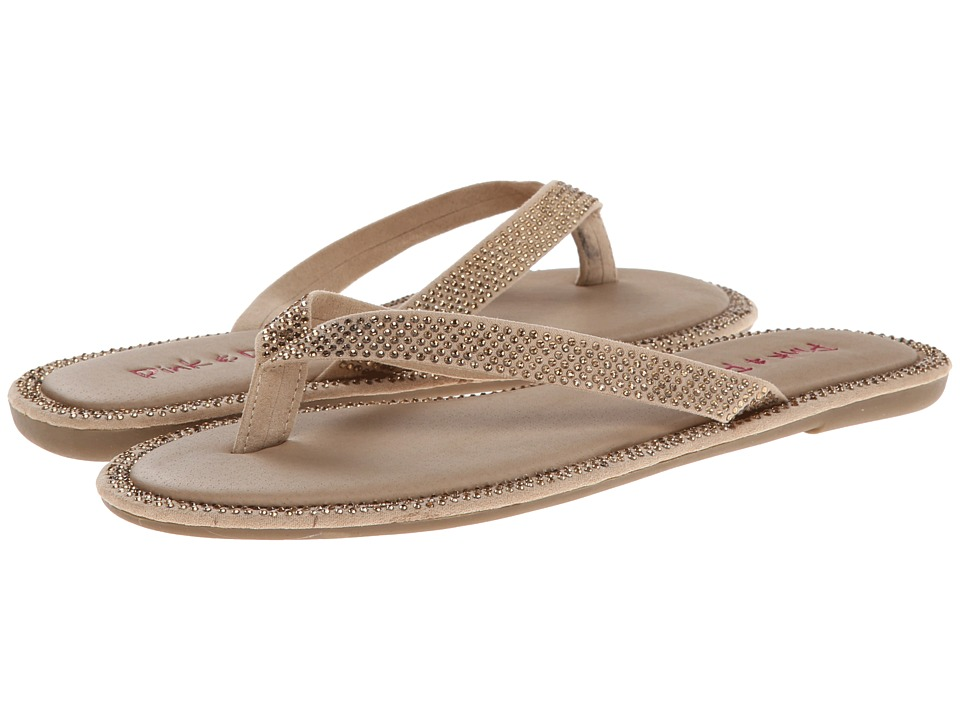 Pink & Pepper - Edgie (Light Brown) Women's Sandals