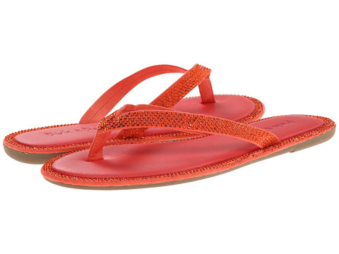 Pink & Pepper - Edgie (Coral) Women's Sandals