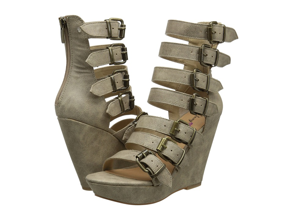 Penny Loves Kenny - Clay (Off White) Women's Wedge Shoes