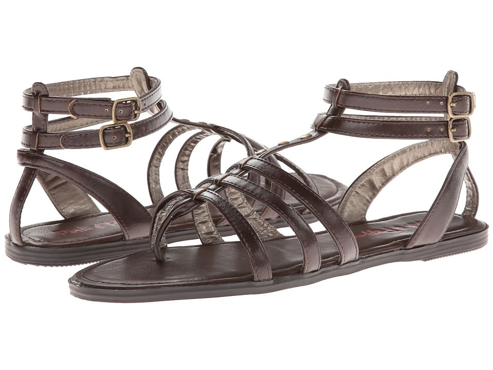Pink & Pepper - Coazter (Dark Brown) Women's Sandals