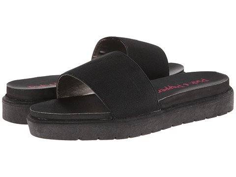 Pink & Pepper - Fantasic (Black) Women's Slide Shoes