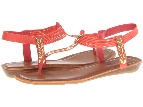 Pink & Pepper - Moxxie (Coral) Women's Sandals