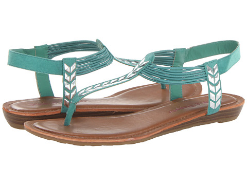 Pink & Pepper - Moxxie (Green Multi) Women's Sandals