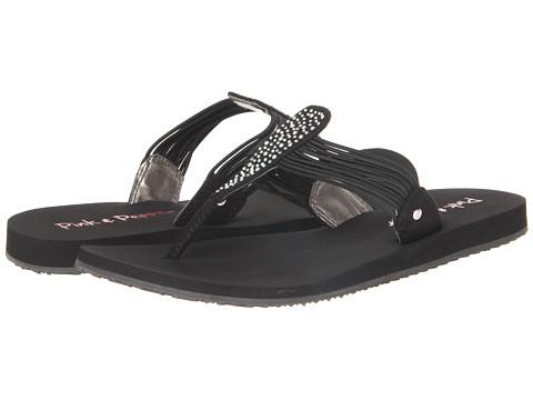 Pink & Pepper Mauie (Black) Women's Sandals