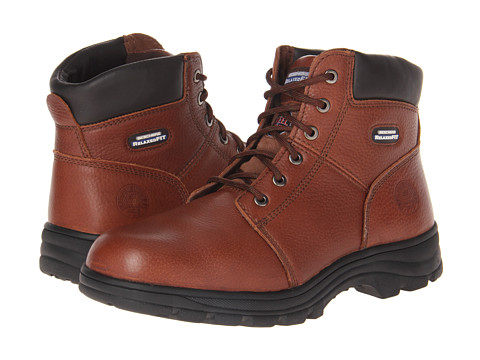 SKECHERS Work - Workshire - Relaxed Fit (Brown) Men