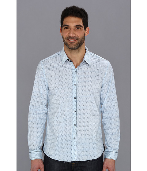 7 Diamonds - Stars And Sons L/S Shirt (Light Blue) Men