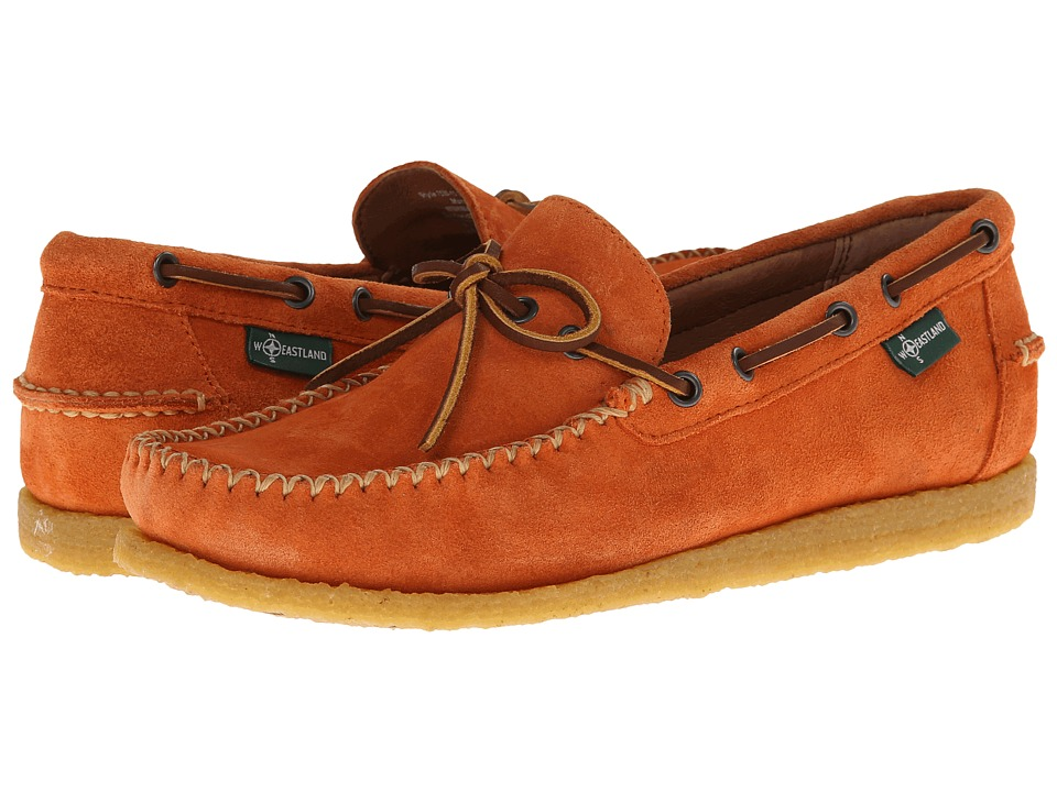 Eastland - Merrimac 1955 Edition Collection (Orange) Men's Slip on Shoes