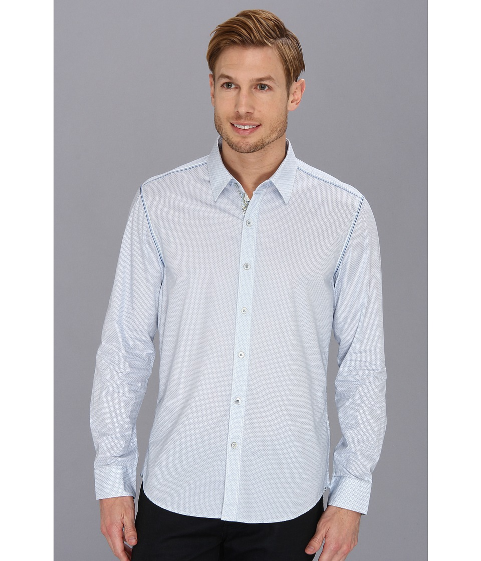 7 Diamonds - Crystal Forecast Shirt (Light Blue) Men