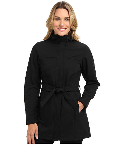 Columbia Take to the Streets Trench (Black) Women's Coat