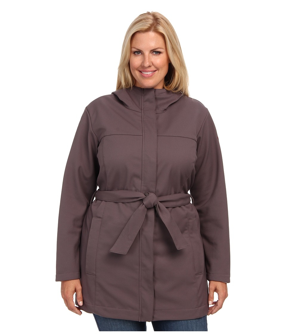 Columbia - Plus Size Take to the Streets Trench (Mineshaft) Women's Coat