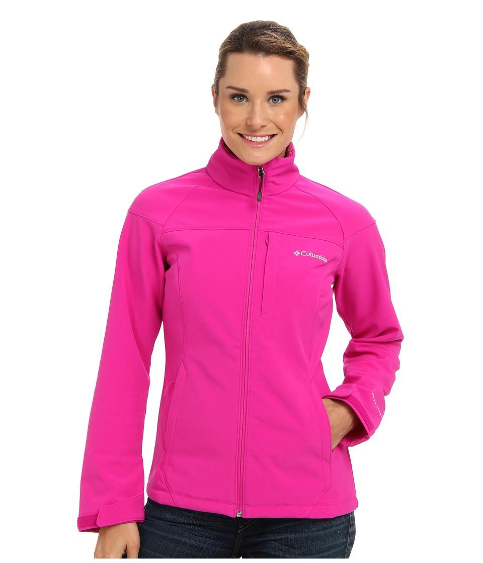 Columbia - Prime Peak Softshell (Groovy Pink) Women