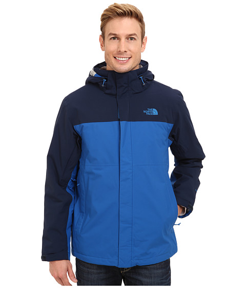 The North Face - Inlux Insulated Jacket (Snorkel Blue/Cosmic Blue) Men's Coat
