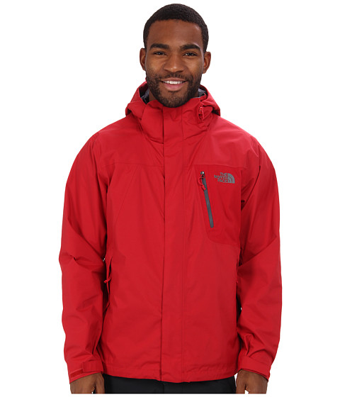 The North Face - Varius Guide Jacket (Rage Red/Rage Red) Men's Coat