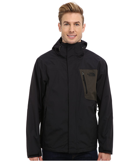 The North Face - Varius Guide Jacket (TNF Black/Black Ink Green) Men's Coat