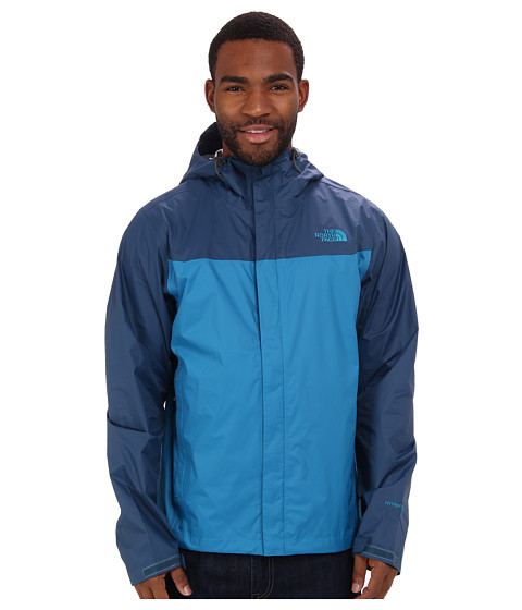 The North Face - Venture Jacket (Baja Blue/Monterey Blue) Men's Coat