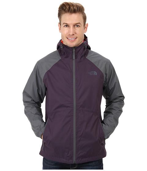 The North Face - Allabout Jacket (Dark Eggplant Purple/Vanadis Grey) Men