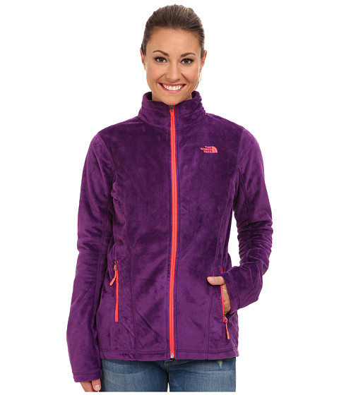 The North Face - Helata FZ (Gravity Purple/Gravity Purple/Azalea Pink/Gravity Purple) Women's Coat