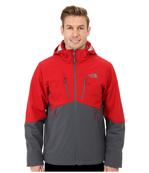The North Face - Apex Elevation Jacket (Rage Red/Vanadis Grey) Men