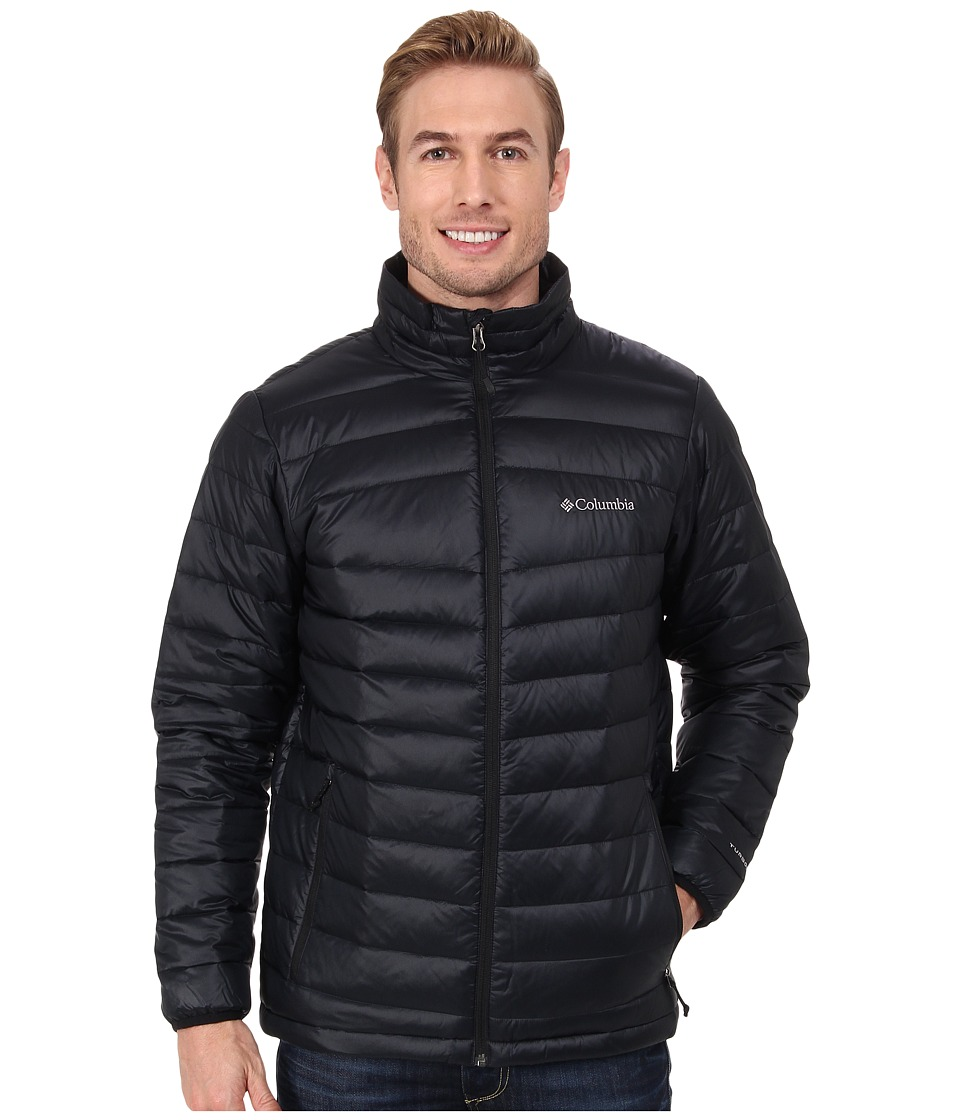 Columbia - Platinum 860 TurboDown Down Jacket (Black) Men's Coat
