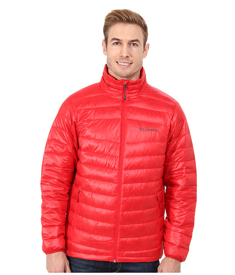 Columbia - Platinum 860 TurboDown Down Jacket (Bright Red) Men