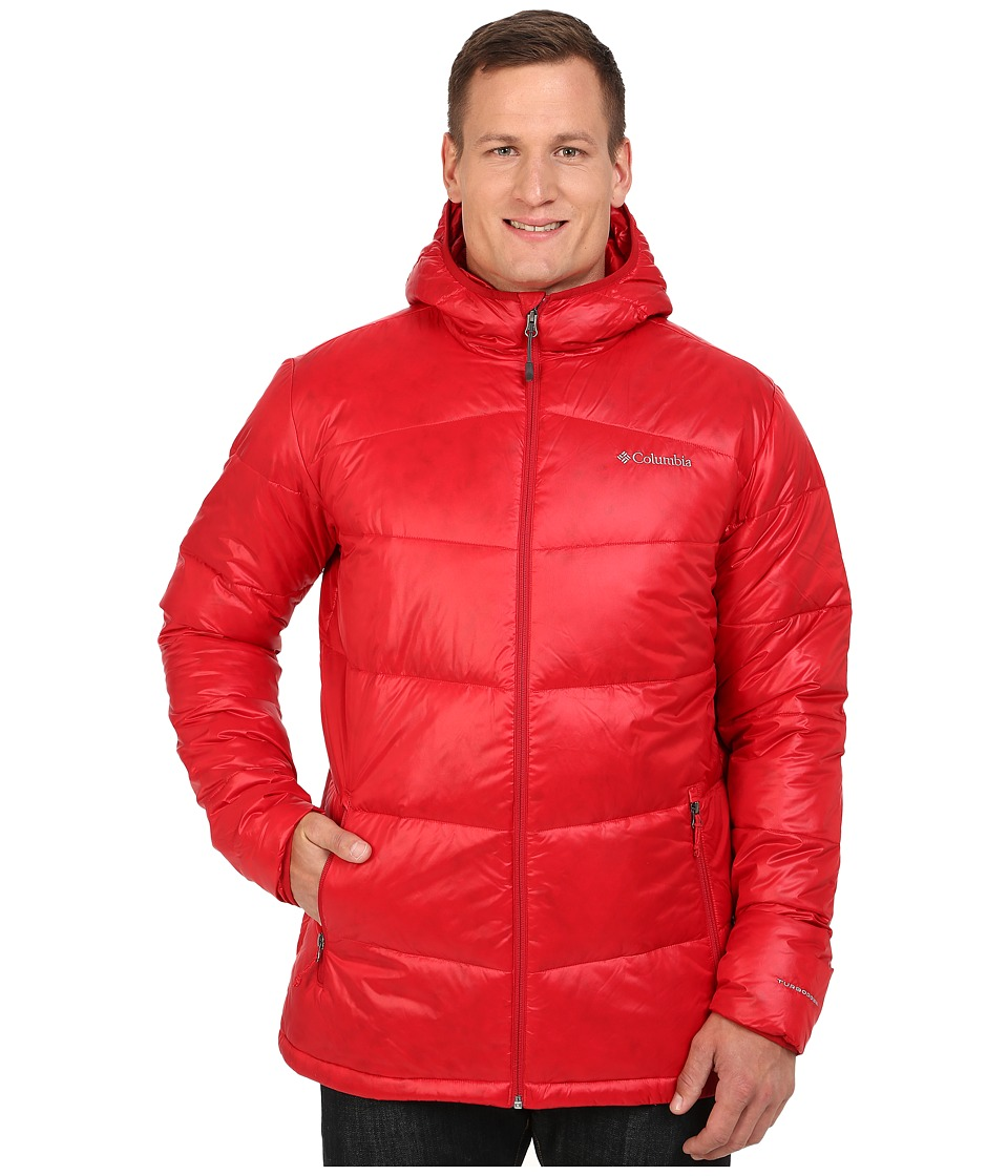 Columbia - Gold 650 TurboDown Hooded Down Jacket - Extended (Rocket) Men