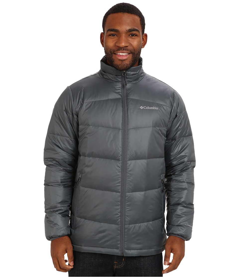Columbia - Gold 650 TurboDown Down Jacket (Graphite) Men's Jacket