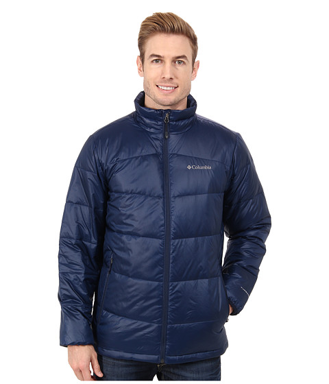 Columbia - Gold 650 TurboDown Down Jacket (Collegiate Navy) Men's Jacket