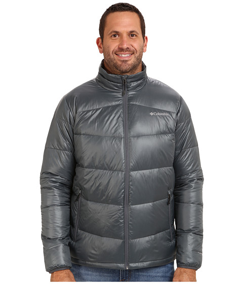 Columbia - Gold 650 TurboDown Down Jacket - Extended (Graphite) Men's Coat