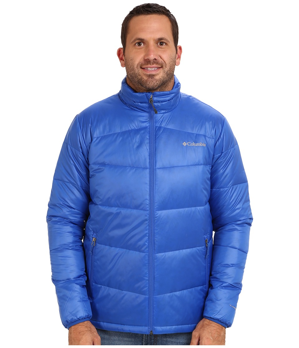 Columbia - Gold 650 TurboDown Down Jacket - Extended (Azul) Men's Coat