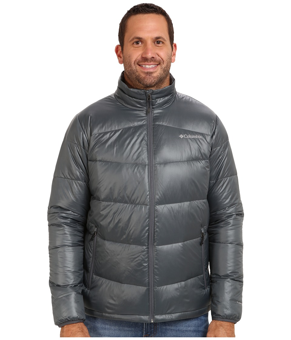 Columbia - Gold 650 TurboDown Down Jacket - Tall (Graphite) Men's Jacket