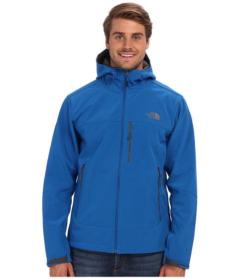 The North Face - Apex Bionic Hoodie (Snorkel Blue/Snorkel Blue) Men's Coat