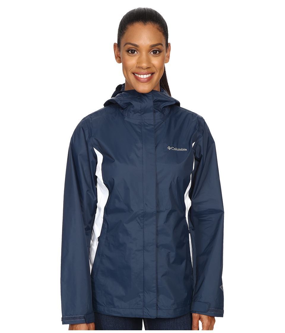 Columbia Arcadia II Jacket (Columbia Navy/White) Women