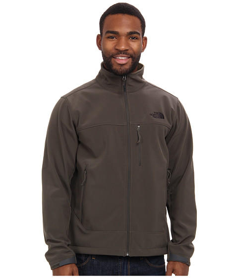 The North Face - Apex Bionic Jacket (Black Ink Green/Black Ink Green) Men's Coat