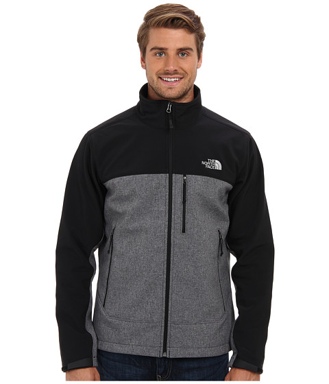 The North Face - Apex Bionic Jacket (TNF Black Heather/TNF Black) Men's Coat