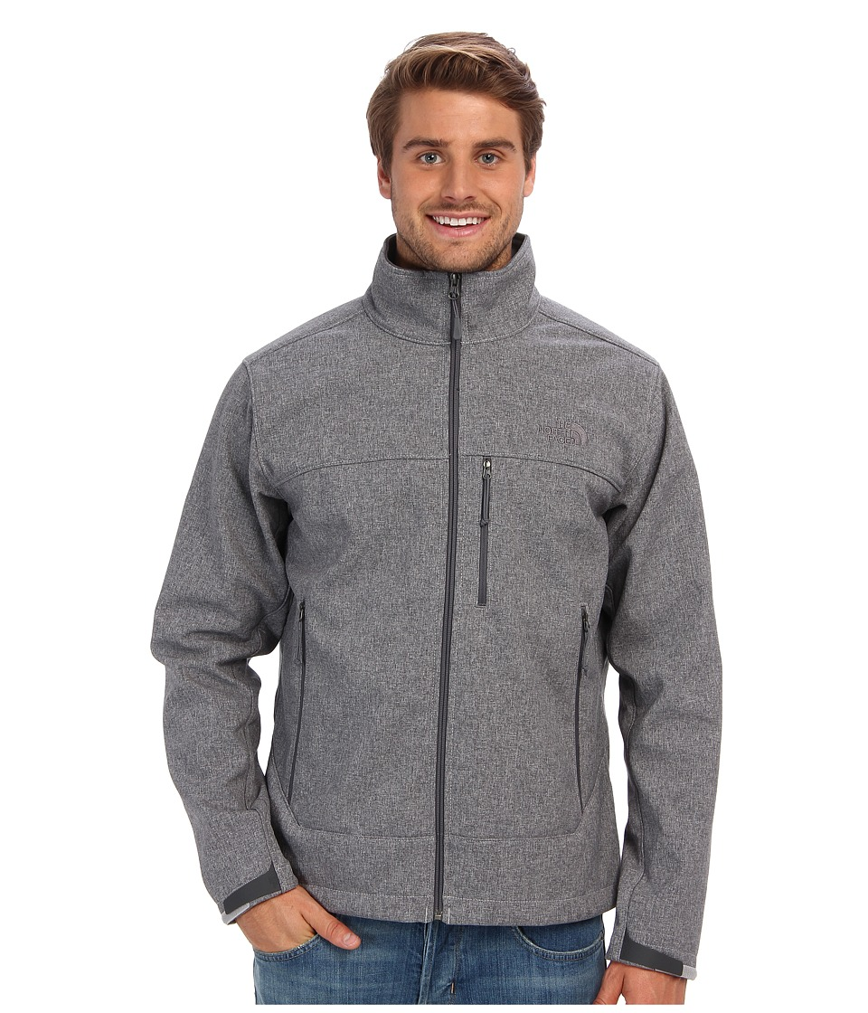 The North Face - Apex Bionic Jacket (High Rise Grey Heather/High Rise Grey Heather) Men's Coat