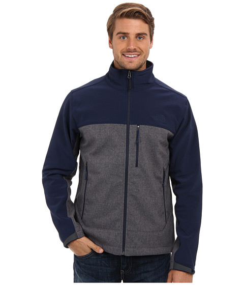 The North Face - Apex Bionic Jacket (Cosmic Blue Heather/Cosmic Blue) Men