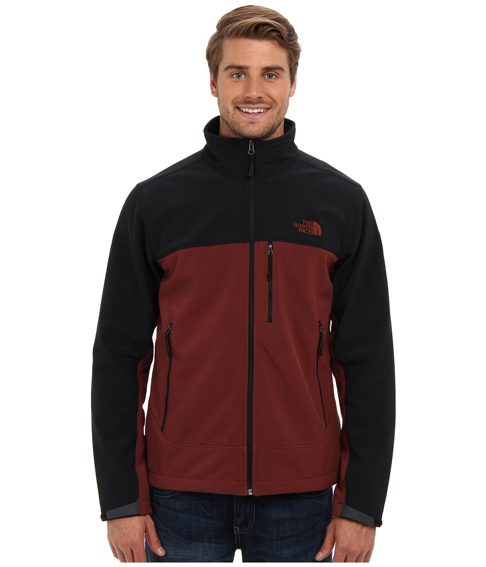 The North Face - Apex Bionic Jacket (Cherry Stain Brown/TNF Black) Men's Coat