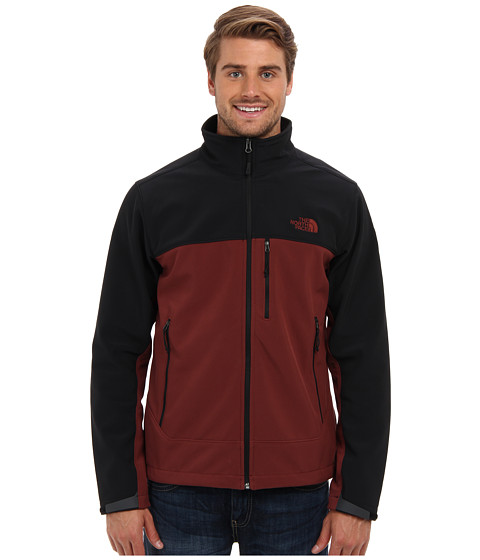 The North Face - Apex Bionic Jacket (Cherry Stain Brown/TNF Black) Men