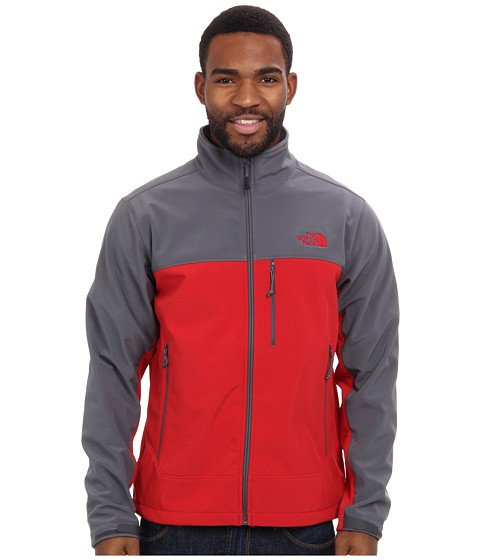 The North Face - Apex Bionic Jacket (Rage Red/Vanadis Grey) Men