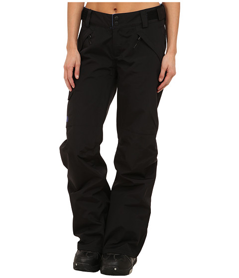 The North Face - Freedom LRBC Pant (TNF Black/Tech Blue/TNF Black/Tech Blue/Coastline Blue) Women