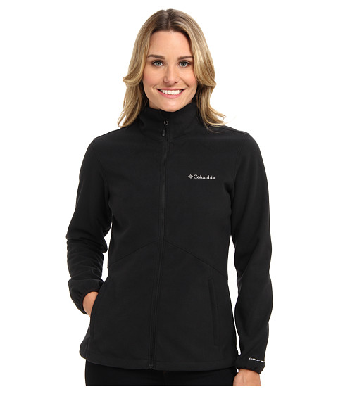 Columbia - Wind Protector Fleece Jacket (Black) Women's Coat