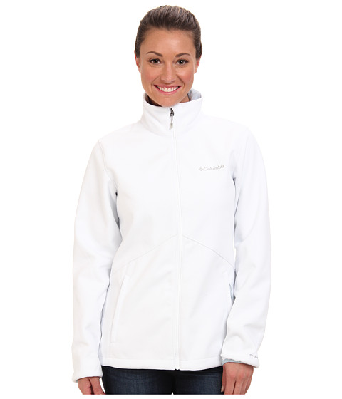 Columbia - Wind Protector Fleece Jacket (White/Mirage) Women