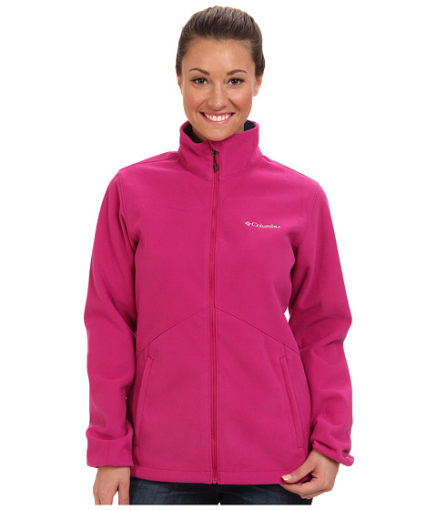 Columbia - Wind Protector Fleece Jacket (Deep Blush) Women's Coat