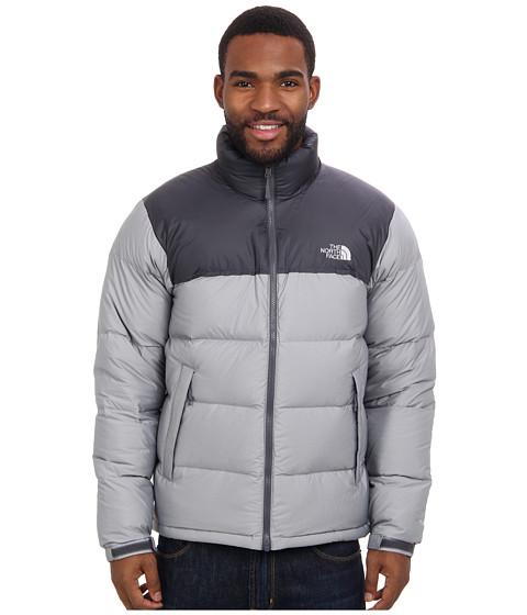 The North Face - Nuptse Jacket (Vanadis Grey Heather/Vanadis Grey) Men