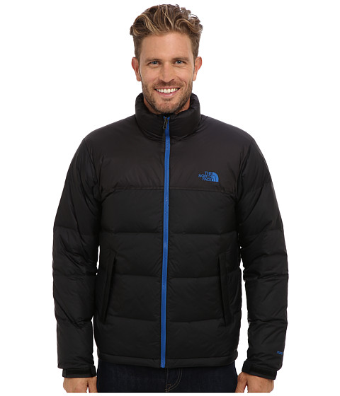The North Face - Nuptse Jacket (TNF Black/Snorkel Blue) Men